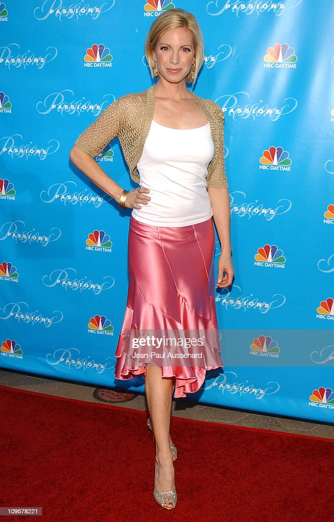 Liza Huber during NBC's 'Passions' 7th Season KickOff Party at Universal Citywalk in Universal City California United States