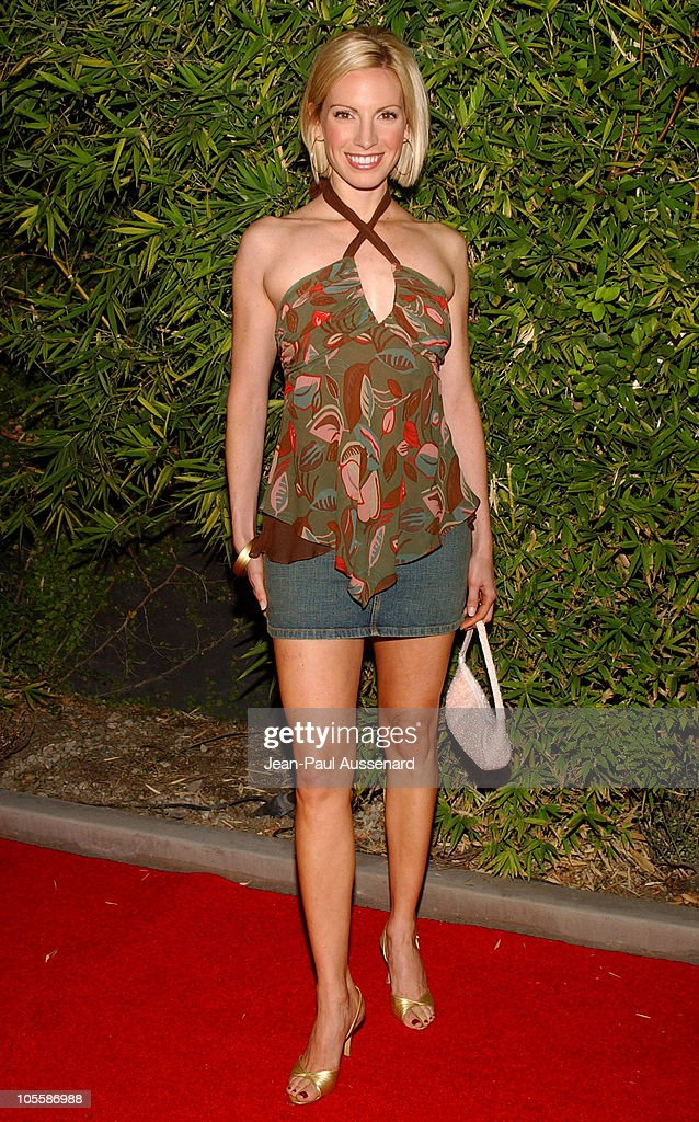 Liza Huber during SOAPnet Fall 2004 Launch Party at Falcon in Hollywood California United States