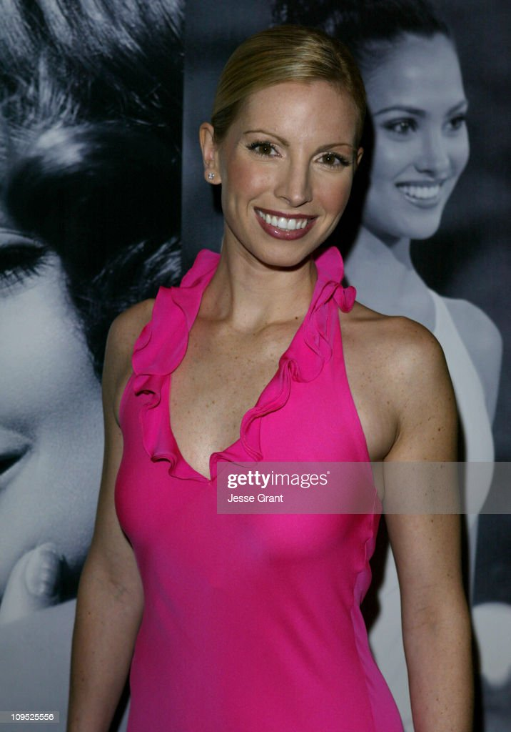 Liza Huber during The 53rd Annual Miss USA Competition Arrivals at The Kodak Theatre in Hollywood California United States