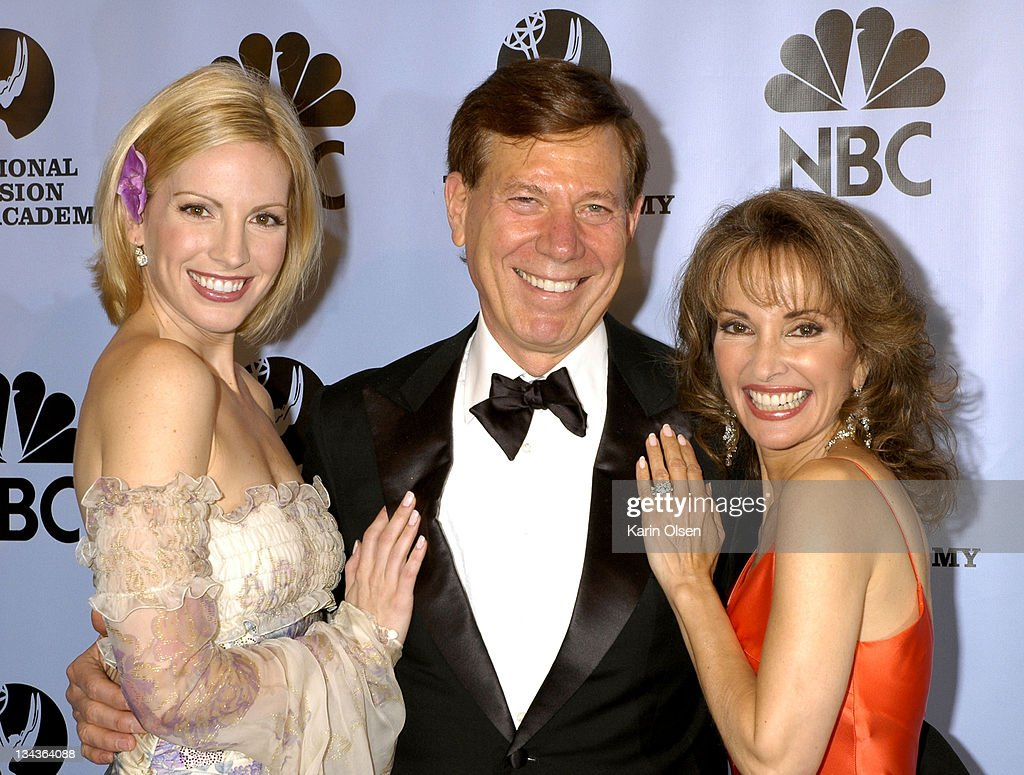 Liza Huber Peter Price and Susan Lucci during 31st Annual Daytime Emmy Awards Pressroom at Radio City Music Hall in New York City New York United...