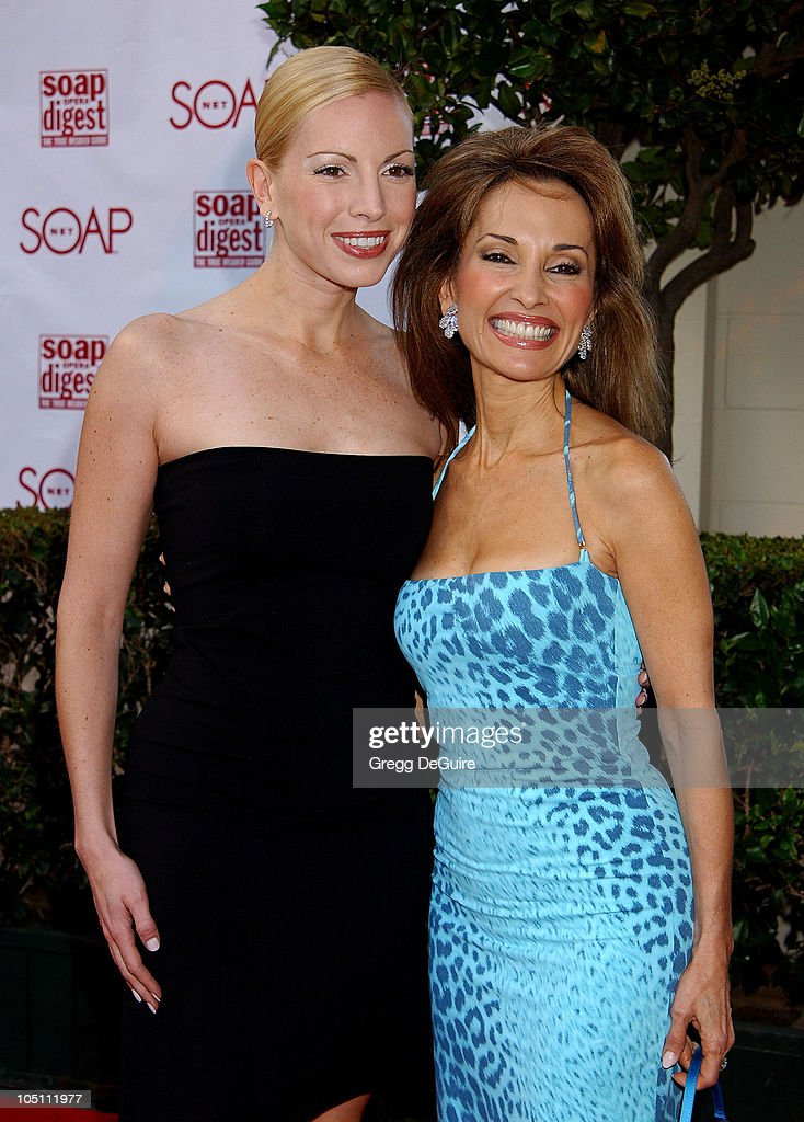 Liza Huber Susan Lucci during Soapnet Presents The Soap Opera Digest Awards Arrivals at ABC Prospect Studios in Los Angeles California United States