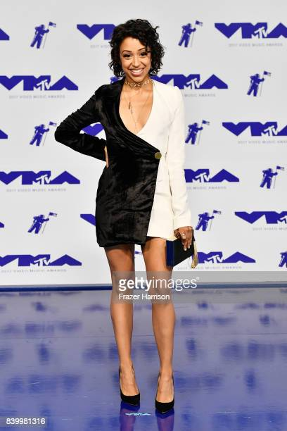 Liza Koshy attends the 2017 MTV Video Music Awards at The Forum on August 27 2017 in Inglewood California