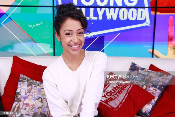 Liza Koshy visits the Young Hollywood Studio on October 19 2017 in Los Angeles California