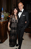 Liza Marshall and Mark Strong attend The Weinstein Company Entertainment Film Distributor StudioCanal 2015 BAFTA After Party in partnership with...