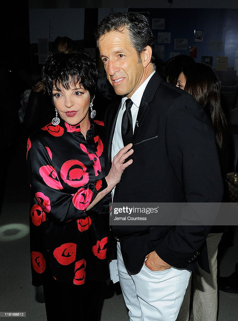 Liza Minelli and designer Kenneth Cole attend the 2nd Annual amfAR Inspiration Gala at The Museum of Modern Art on June 14, 2011 in New York City.