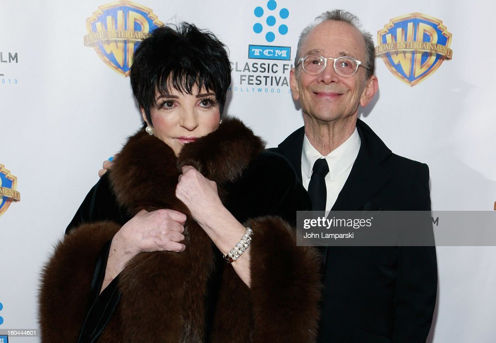Liza Minelli and <a gi-track='captionPersonalityLinkClicked' href=/galleries/search?phrase=Joel+Grey&family=editorial&specificpeople=215297 ng-click='$event.stopPropagation()'>Joel Grey</a> attend 'Cabaret' 40th Anniversary New York Screening at Ziegfeld Theatre on January 31, 2013 in New York City.