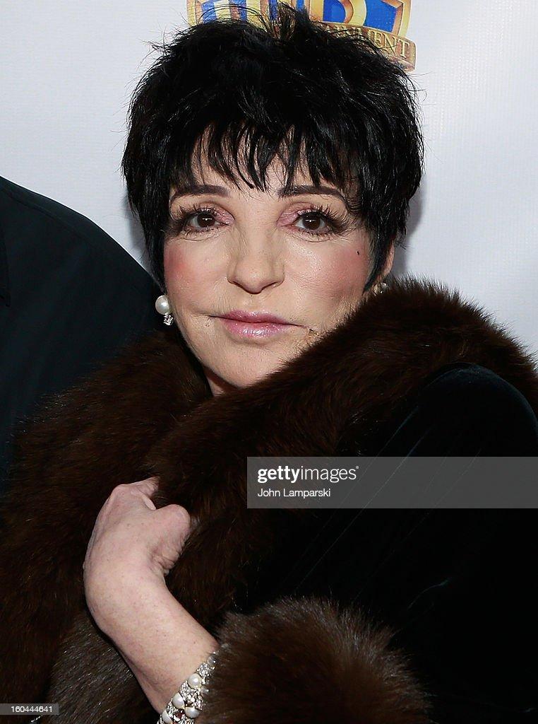 Liza Minelli attends 'Cabaret' 40th Anniversary New York Screening at Ziegfeld Theatre on January 31, 2013 in New York City.
