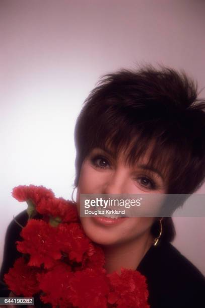 Liza Minnelli and Red Carnations