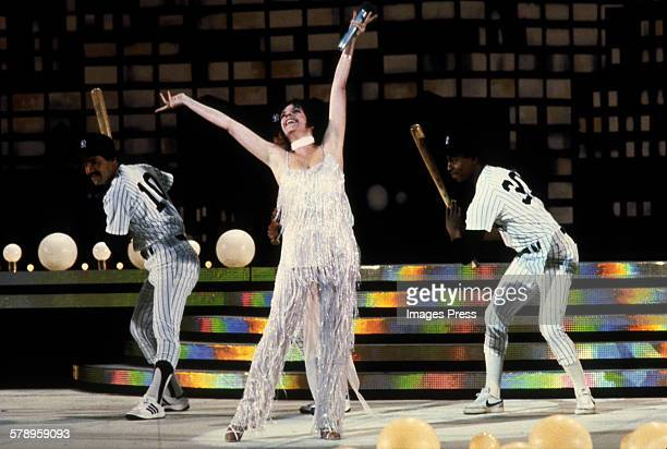 Liza Minnelli at 'Night of 100 Stars' at Radio City Music Hall circa 1982 in New York City