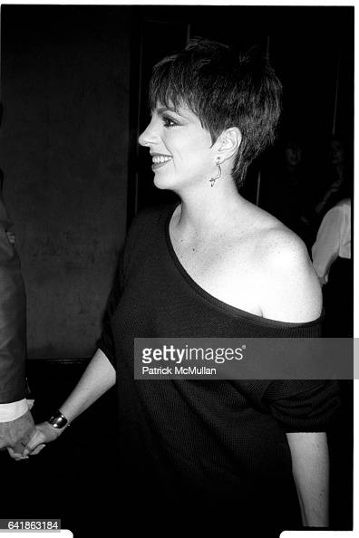 Liza Minnelli at the Old Gringo premiere at the Ziegfeld Theater October 5 1989