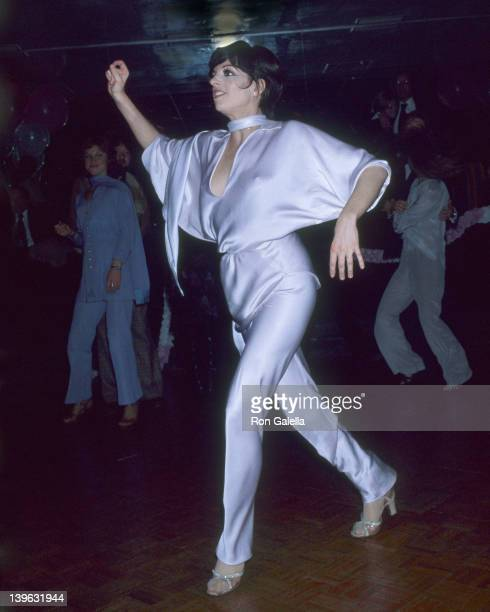 Liza Minnelli attends 25th Birthday Party for Lorna Luft on November 21 1977 at New York New York Disco in New York City