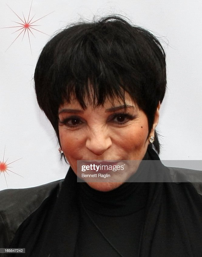<a gi-track='captionPersonalityLinkClicked' href=/galleries/search?phrase=Liza+Minnelli&family=editorial&specificpeople=121547 ng-click='$event.stopPropagation()'>Liza Minnelli</a> attends the Media Opening for Kinky Boots on Broadway, 'KinkyBway', at the Al Hirschfeld Theatre on April 4, 2013 in New York City.