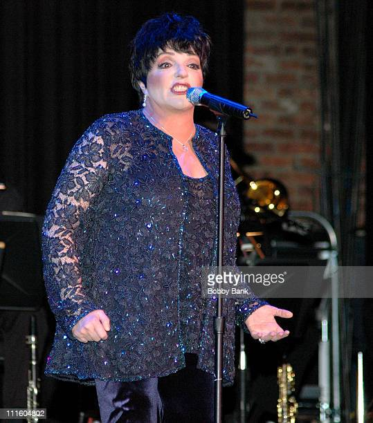 Liza Minnelli during Celebral Palsy of Middlesex County Presents Liza Minnelli at The State Theatre April 29 2006 at The State Theatre in New...