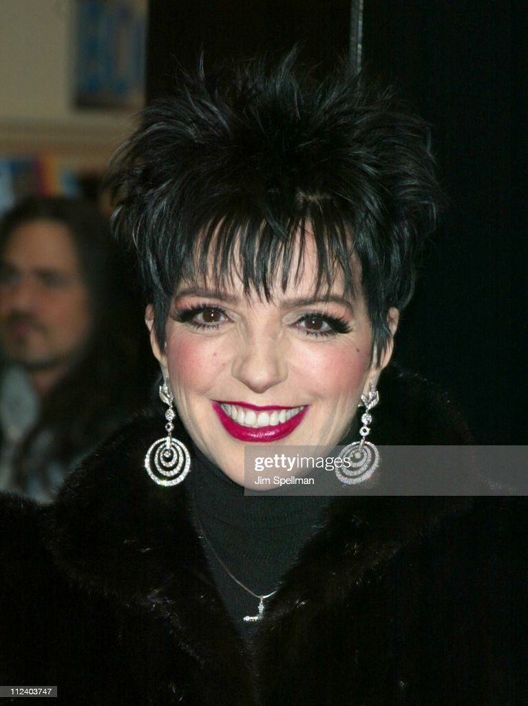"""Liza Minnelli In-Store At Tower Records New York  Promoting Her New CD """"Liza's"""