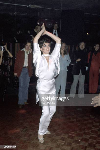 Liza Minnelli during Lorna Luft's 25th Birthday Party at Disco in New York City New York United States