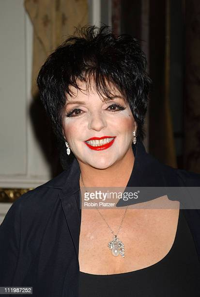 Liza Minnelli during Tenth Annual Living Landmarks' Gala Benefitting the New York Landmarks Conservancy at The Plaza Hotel in New York City New York...