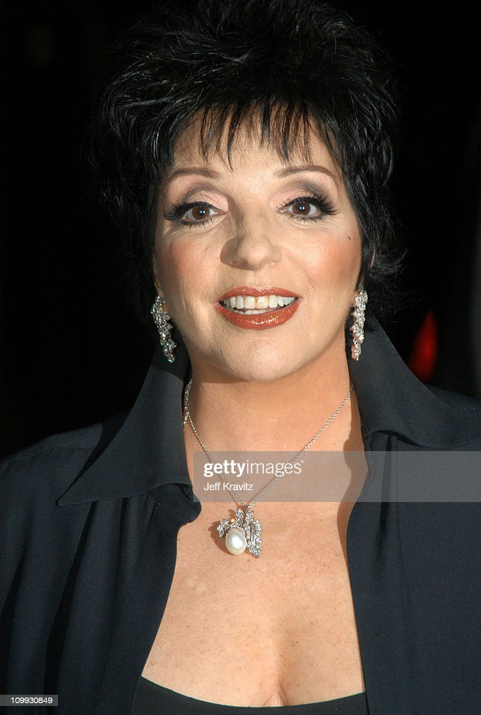 Liza Minnelli during VH1 Big in 2003 - Backstage and Audience at ...