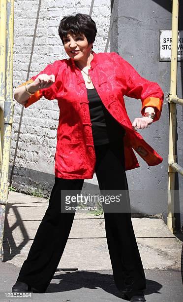 Liza Minnelli is seen leaving the ITV studios on June 3 2011 in London England