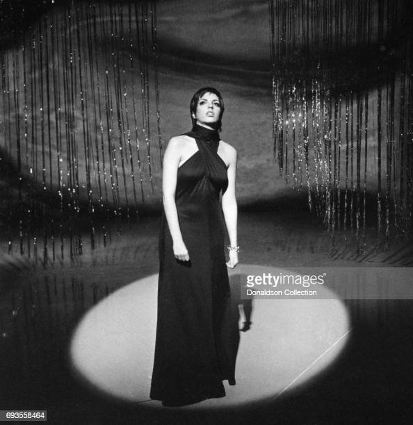 Liza Minnelli performs on 'This Is Tom Jones' TV show in circa 1970 in Los Angeles California