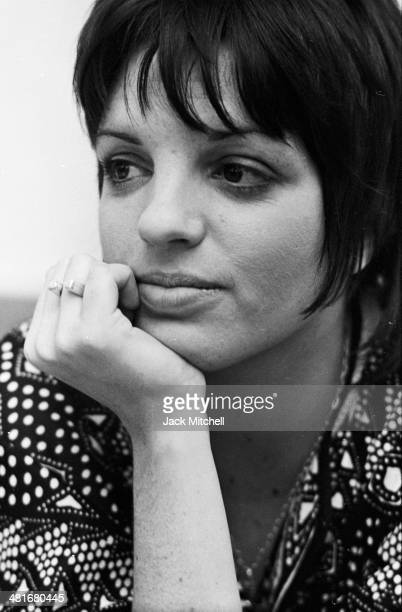 Liza Minnelli photographed in 1972 the year she won the Academy Award for Best Actress for 'Cabaret'