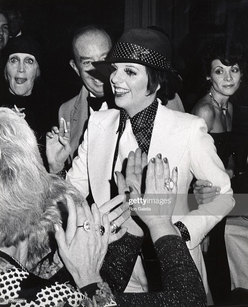 party following liza minnelli u0027s opening at the winter garden