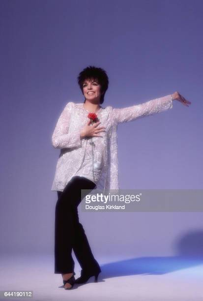 Liza Minnelli with Red Carnation