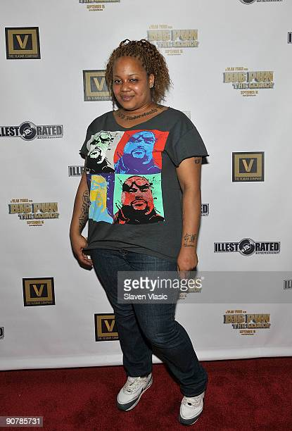 Liza Rios the Big Pun's widow attends the 'Big Pun The Legacy' film release party at the Sofa Lounge on September 14 2009 in New York City