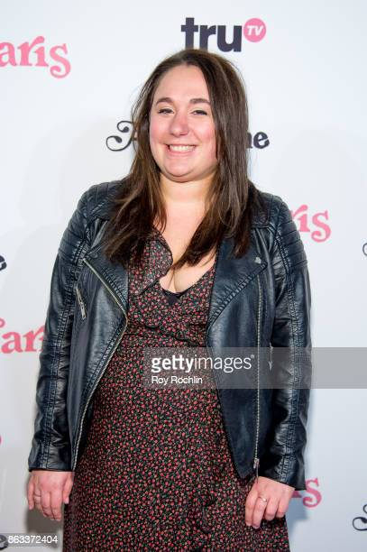 Liza Treyger attends 'At Home With Amy Sedaris' New York Screening at The Bowery Hotel on October 19 2017 in New York City