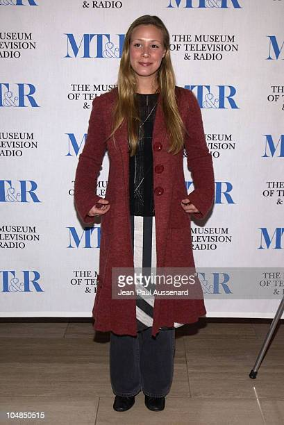 Liza Weil during The 20th Anniversary William S Paley Television Festival Opening Night Party Sponsored by The Hollywood Reporter at Museum of...