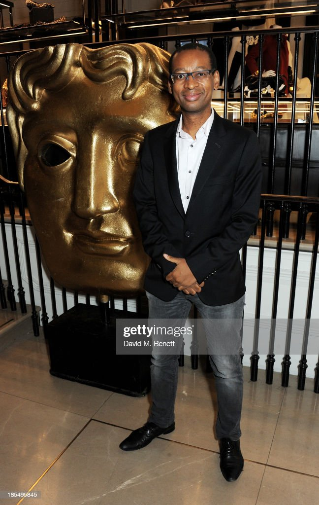 Lizo Mzimba attends the BAFTA 'Breakthrough Brits' event at Burberry 121 Regent Street, London on October 21, 2013 in London, United Kingdom.
