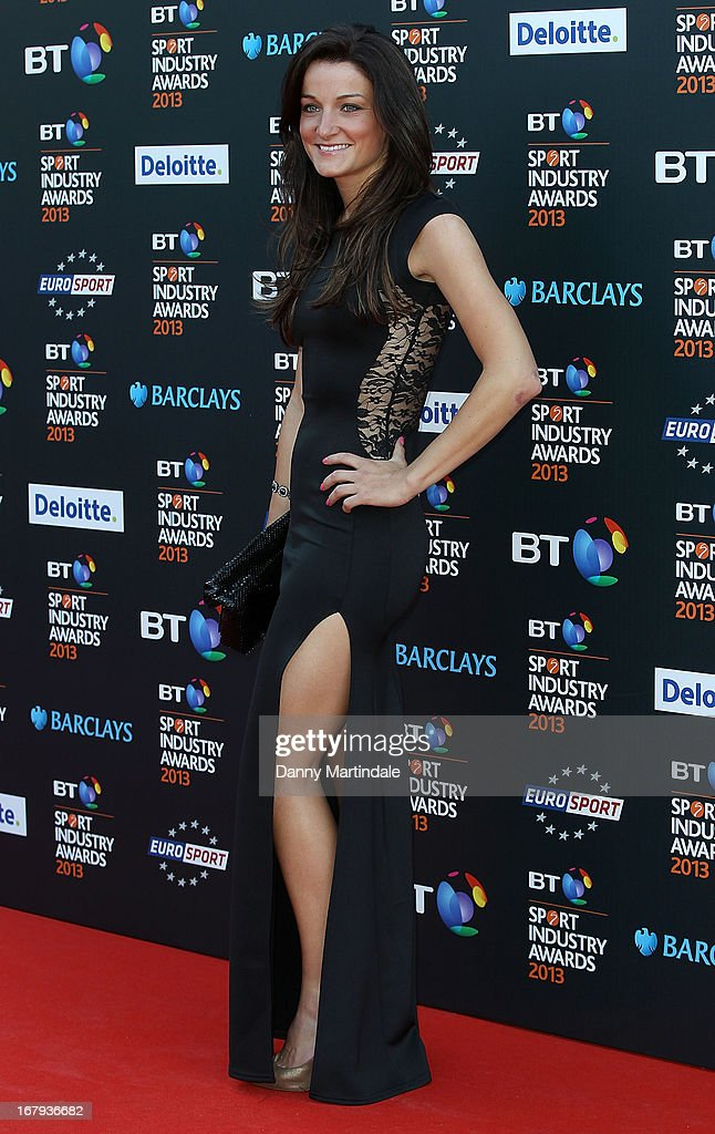 Lizzie Armistead attends the BT Sports Industry awards at Battersea Evolution on May 2, 2013 in London, England.