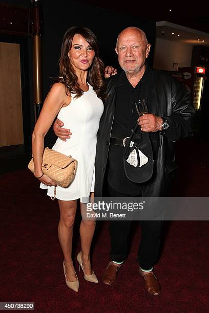 Lizzie Cundy and Steven Berkoff attend the London Premiere of The Almeida Theatre production of 'Ghosts' at the Empire Leicester Square on June 16...