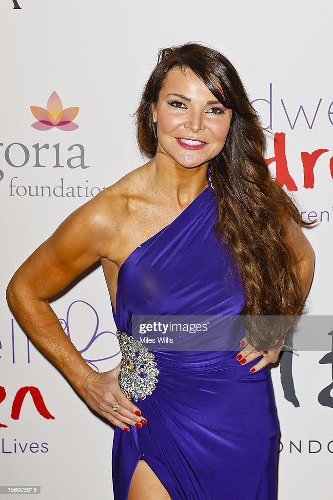 Lizzie Cundy arrives at the Noble Gift Gala held at the ME Hotel on December 8, 2012 in London, England.