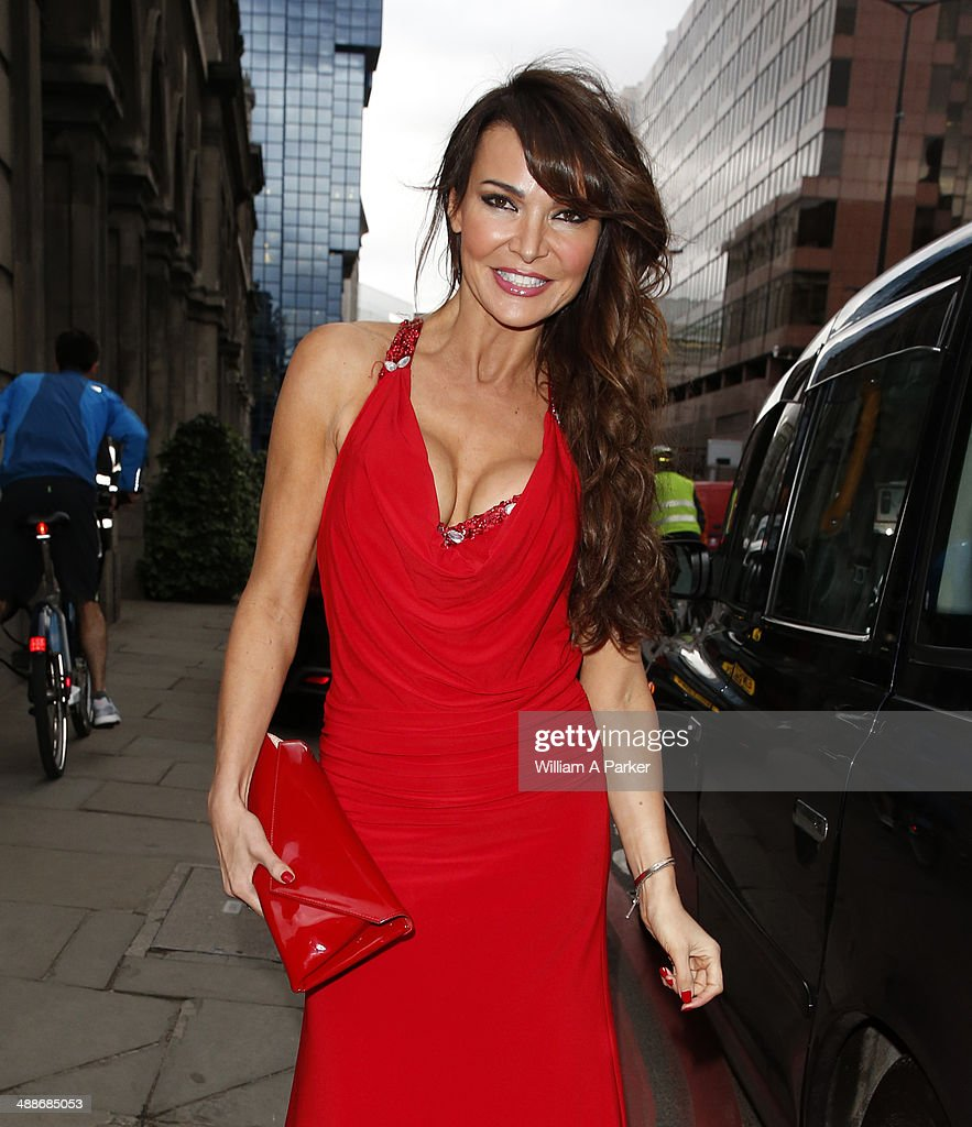 Lizzie Cundy attending Gabrielle's Angel Foundation For Cancer Research Hosts Third on May 7, 2014 in London, England.