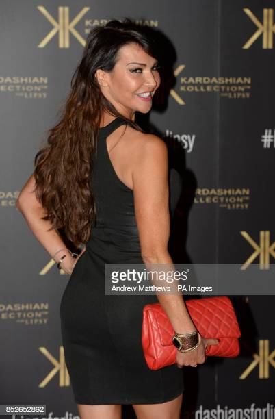 Lizzie Cundy attending the Kardashian Kollection For Lipsy launch party at the Natural History Museum London PRESS ASSOCIATION Photo Picture date...