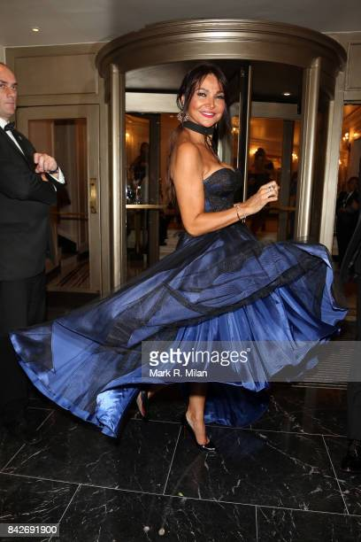 Lizzie Cundy attending the TV choice awards on September 4 2017 in London England