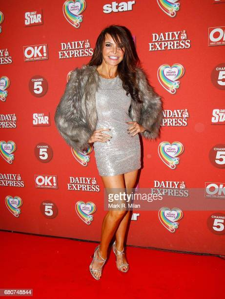 Lizzie Cundy attends the 60th Birthday Celebration of Richard Desmond at Old Billingsgate Market on December 8 2011 in London England