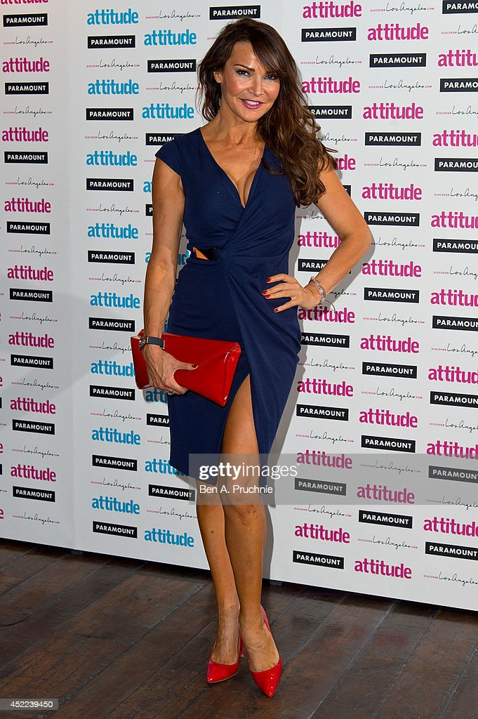 <a gi-track='captionPersonalityLinkClicked' href=/galleries/search?phrase=Lizzie+Cundy&family=editorial&specificpeople=4697352 ng-click='$event.stopPropagation()'>Lizzie Cundy</a> attends the Attitude Magazine Hot 100 party at Paramount Club on July 16, 2014 in London, England.