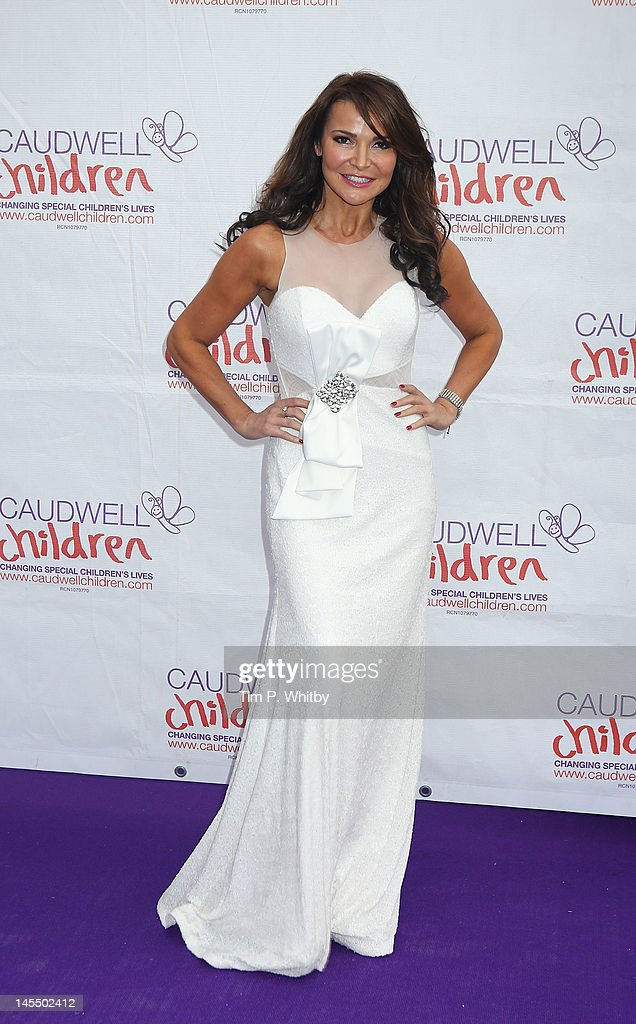 Lizzie Cundy attends The Diamond Butterfly Ball in aid Of Caudwell Children at Battersea Evolution on May 31, 2012 in London, England.