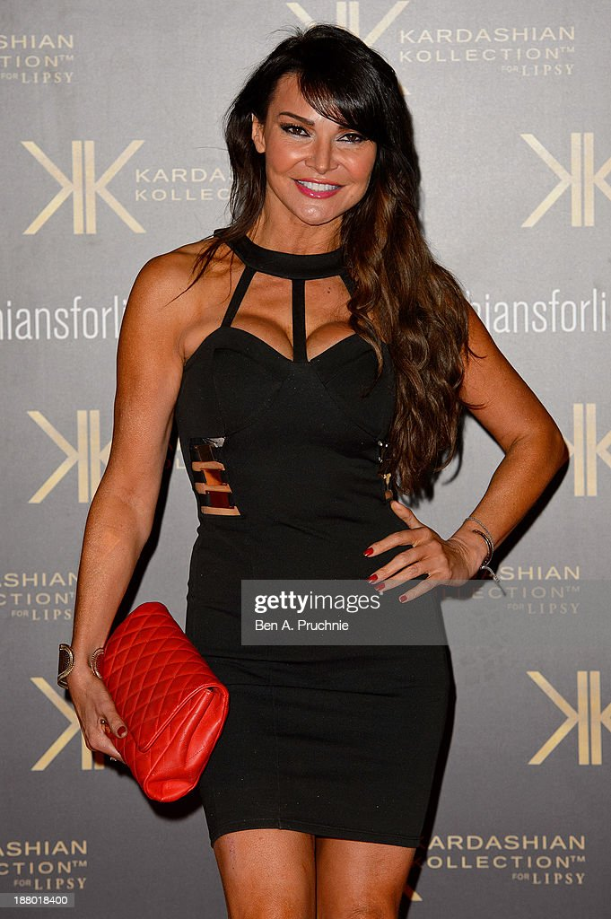 <a gi-track='captionPersonalityLinkClicked' href=/galleries/search?phrase=Lizzie+Cundy&family=editorial&specificpeople=4697352 ng-click='$event.stopPropagation()'>Lizzie Cundy</a> attends the launch party for the Kardashian Kollection for Lipsy at Natural History Museum on November 14, 2013 in London, England.