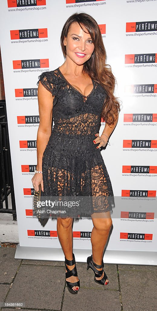 Lizzie Cundy attends the Love Perfume Awards on October 18, 2012 in London, England.