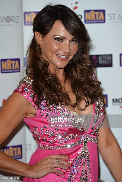 Lizzie Cundy attends the National Reality TV Awards at Porchester Hall on September 30 2015 in London England