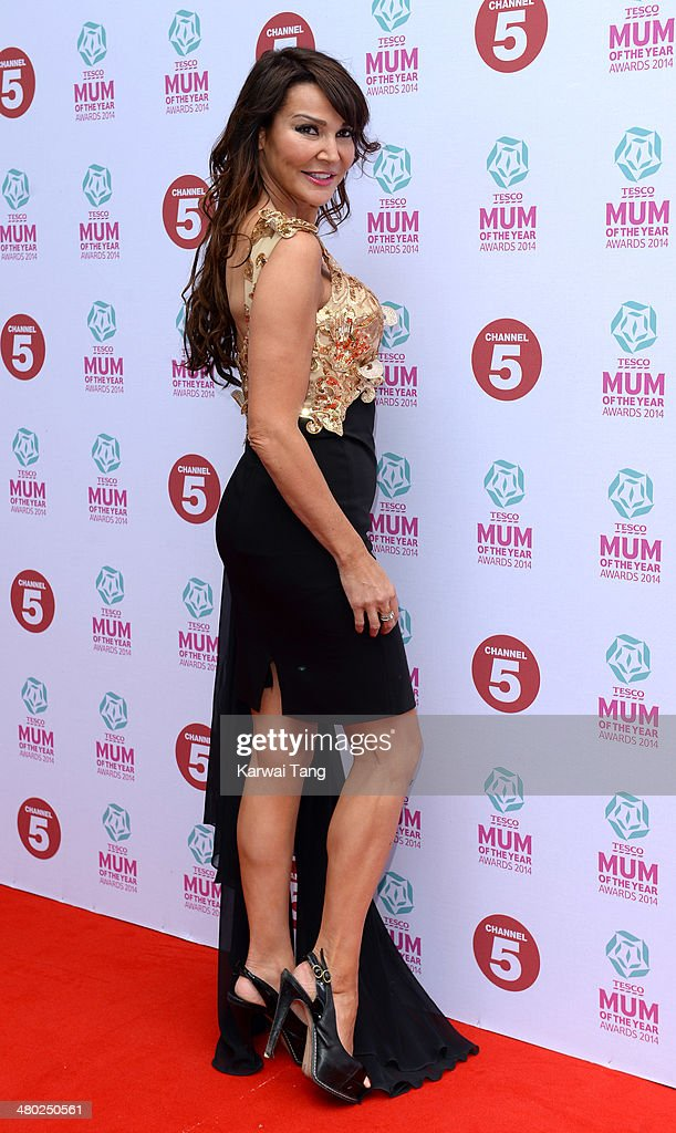 Lizzie Cundy attends the Tesco Mum of the Year awards at The Savoy Hotel on March 23, 2014 in London, England.