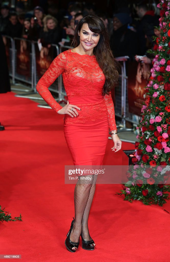 <a gi-track='captionPersonalityLinkClicked' href=/galleries/search?phrase=Lizzie+Cundy&family=editorial&specificpeople=4697352 ng-click='$event.stopPropagation()'>Lizzie Cundy</a> attends the UK Premiere of 'New York Winter's Tale' at ODEON Kensington on February 13, 2014 in London, England.