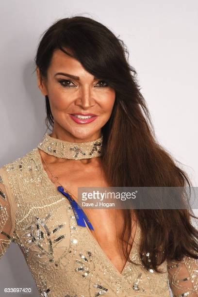 Lizzie Cundy attends the Zoom F1 Charity auction on February 3 2017 in London United Kingdom