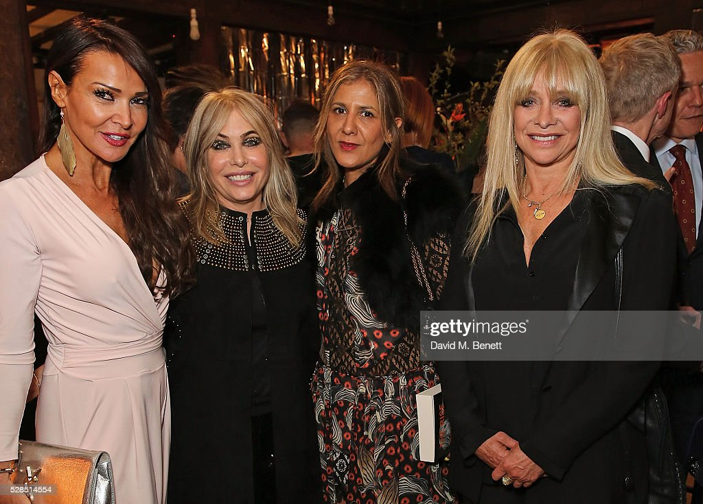 Lizzie Cundy, Brix Smith Start, Azzi Glasser and Jo Wood attend the Brix Smith Start Autobiography Launch at Liberty London on May 5, 2016 in London, England.