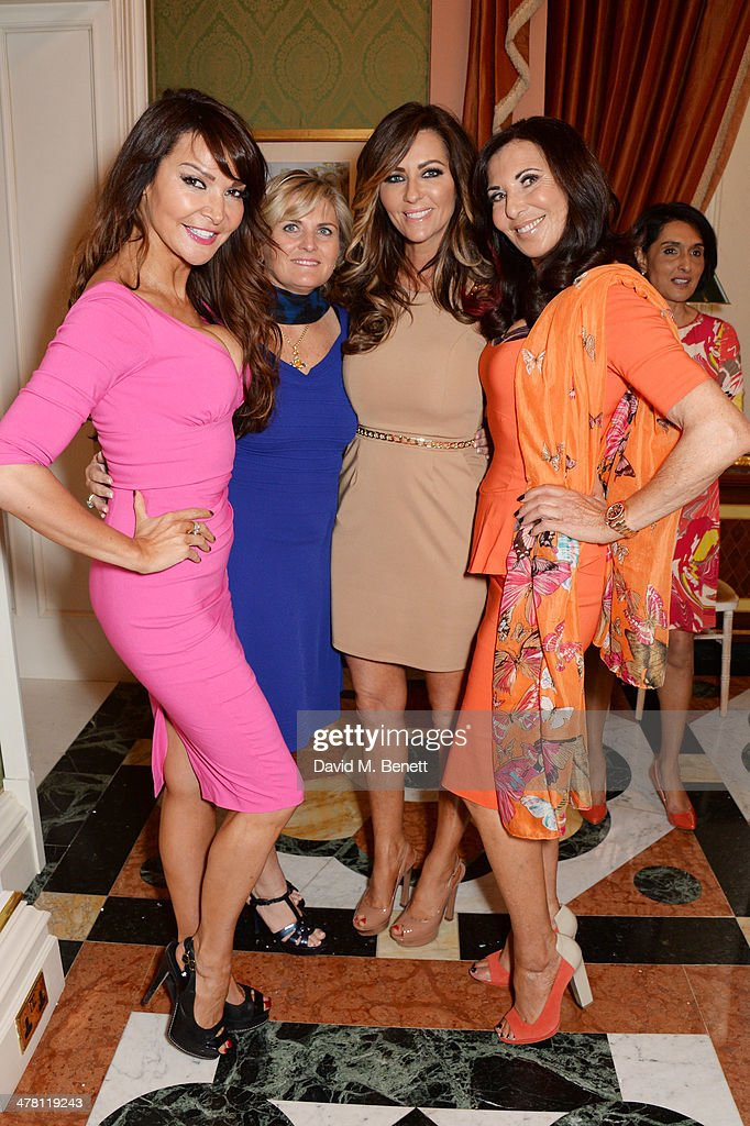 <a gi-track='captionPersonalityLinkClicked' href=/galleries/search?phrase=Lizzie+Cundy&family=editorial&specificpeople=4697352 ng-click='$event.stopPropagation()'>Lizzie Cundy</a>, Katrina Moore, Dawn Ward and Alexis Lewis attend the Caudwell Children Butterfly Ball launch breakfast 2014 at Ancaster House on March 12, 2014 in London, England.