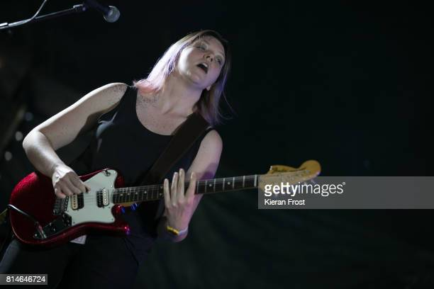 Lizzie Fitzpatrick of Bitch Falcon performs at Longitude Festival at Marlay Park on July 14 2017 in Dublin Ireland