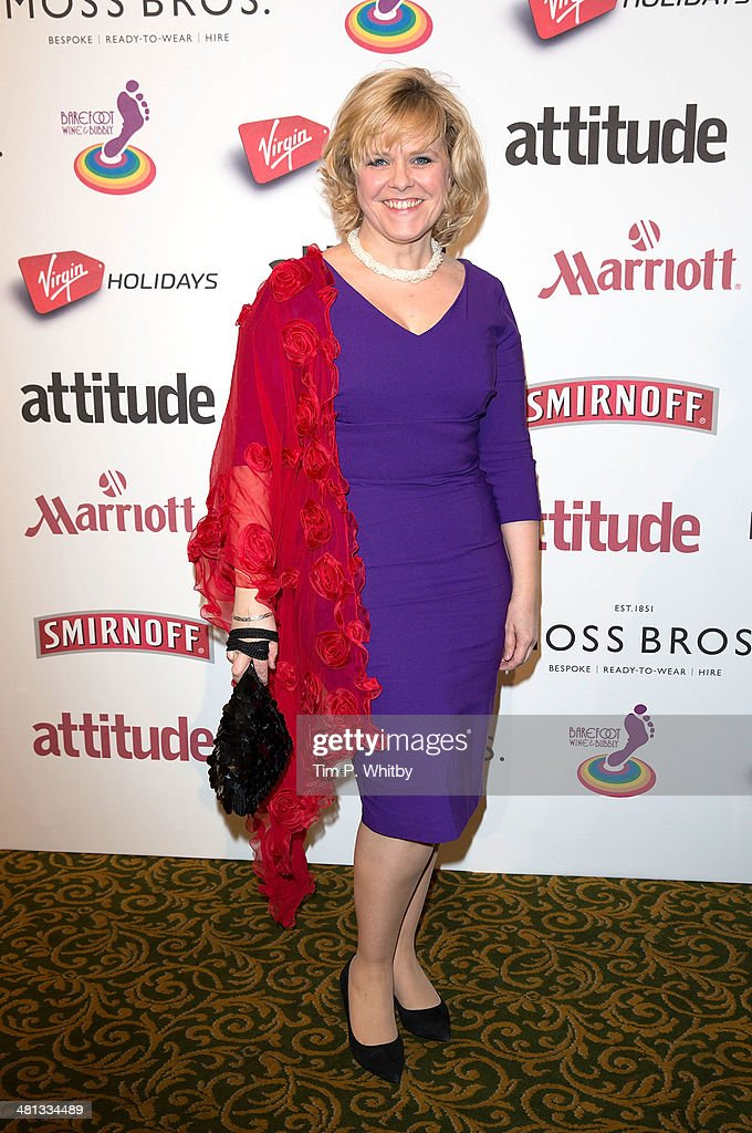 Lizzie Roper attends the 20th birthday party of Attitude Magazine at The Grosvenor House Hotel on March 29, 2014 in London, England.