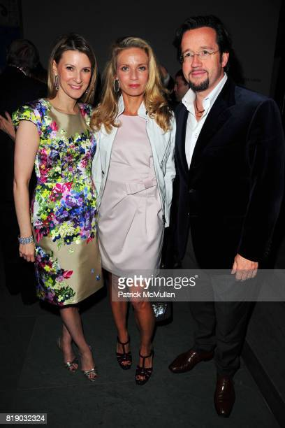 Lizzie Tisch Alice Bennahmias and Francois Bennahmias attend JONATHAN TISCH Book Launch Party for 'Citizen You' at The Museum of Modern Art on May 6...